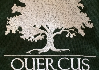 Northshore Embroidery Sample  - Quercus Tree Services