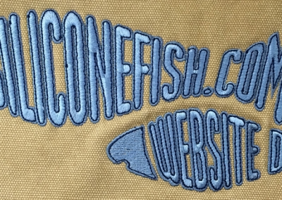 Northshore Embroidery Sample - Siliconefish