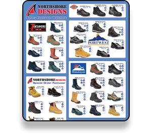 Northshore Designs Footwear Catalogue